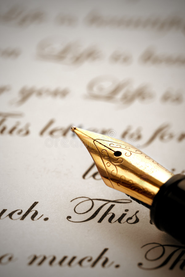 Download Pen Royalty Free Stock Photo - Image: 7652775