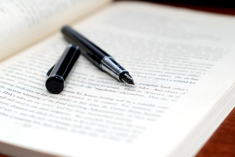 Download Pen And Book Royalty Free Stock Photos - Image: 22631248
