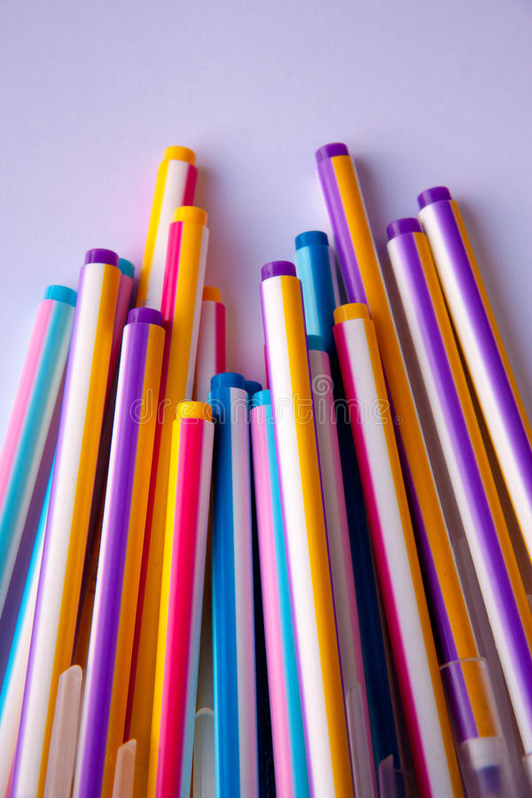 Pen Colorful photos libres de droits