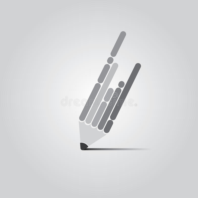 Pen Design piano royalty illustrazione gratis