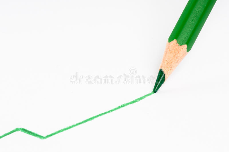 Download Pen Drawing A Positive Line Stock Photo - Image: 10472974