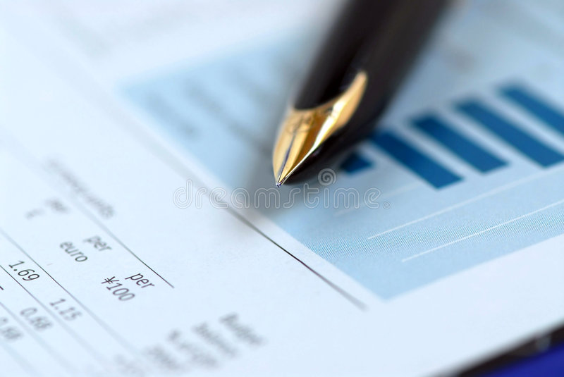 Download Pen finance chart stock photo. Image of chart, finance - 1148366