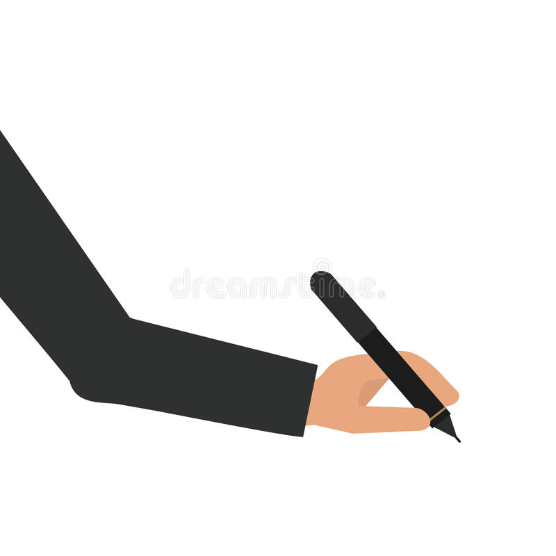 Free Pen Isolated On White Background Office Equipment Stationery Metallic Tool Vector Illustration Stock Images - 92744814