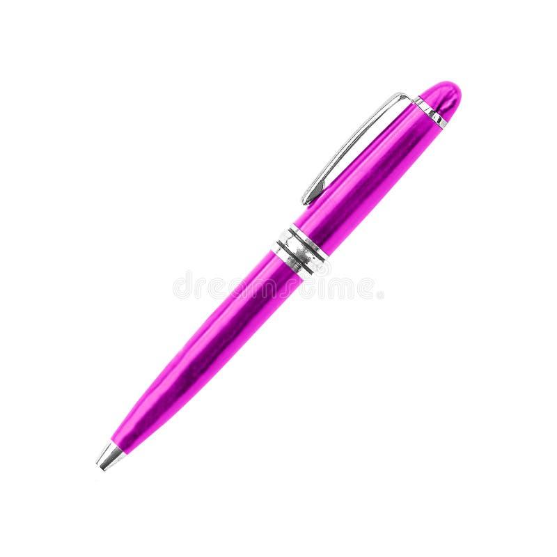 Pen isolerade på vitbakgrund arkivfoton