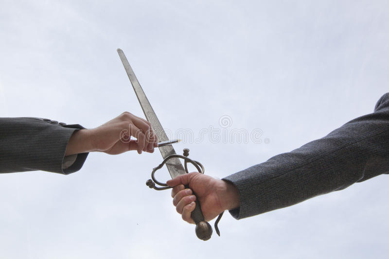 Download The Pen Is Mightier Than The Sword Stock Photo - Image: 36392966