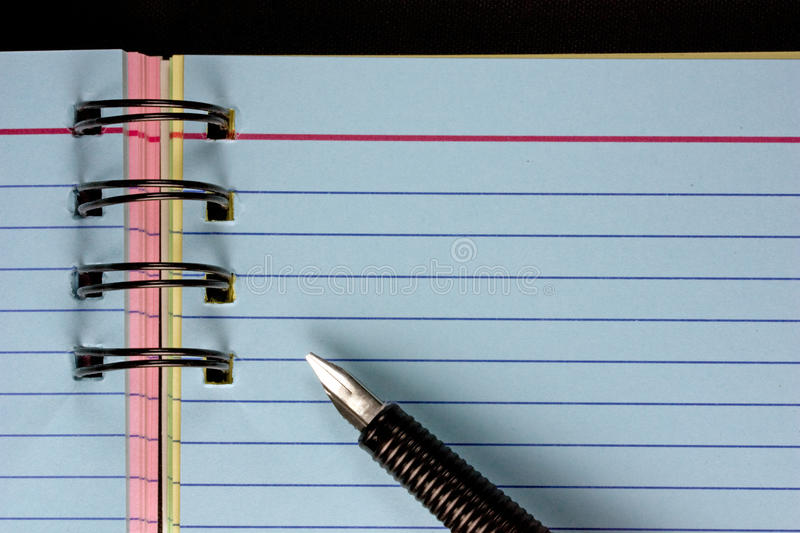 Download Pen and note book stock image. Image of appointment, note - 10917301