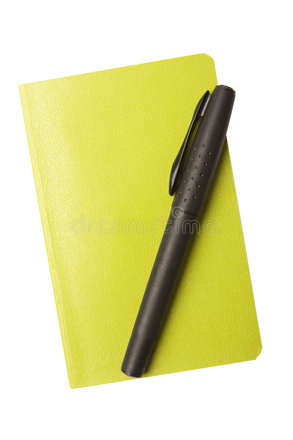 Download Pen and Notepad stock image. Image of paper, diary, page - 6224411