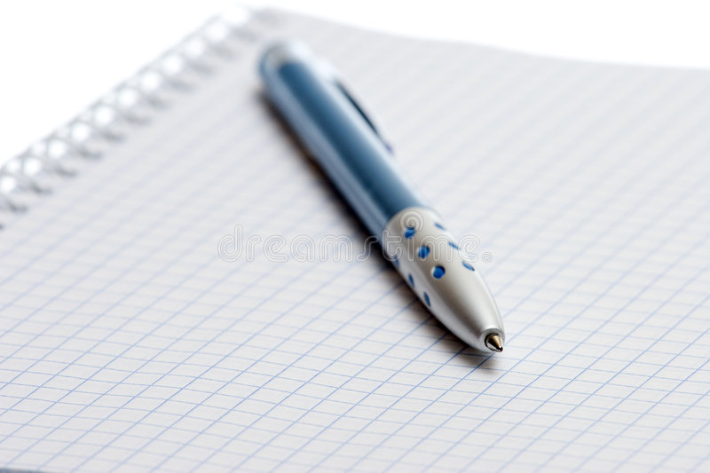 Download Pen and paper stock photo. Image of background, handwriting - 6965134