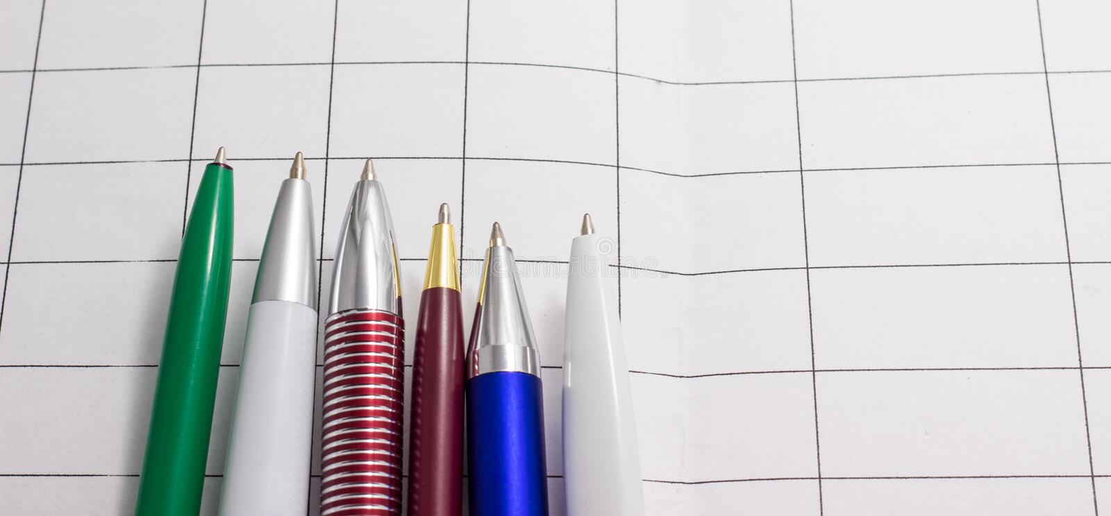 Download Pen And Paper Stock Photo - Image: 83721990