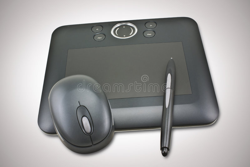 Pen Tablet Stock Images