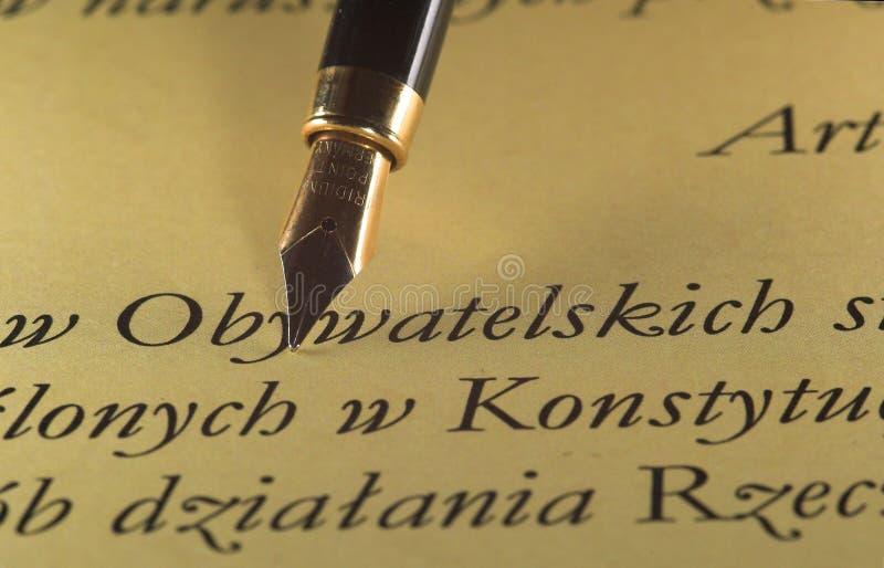 Pen & tekst stock afbeeldingen