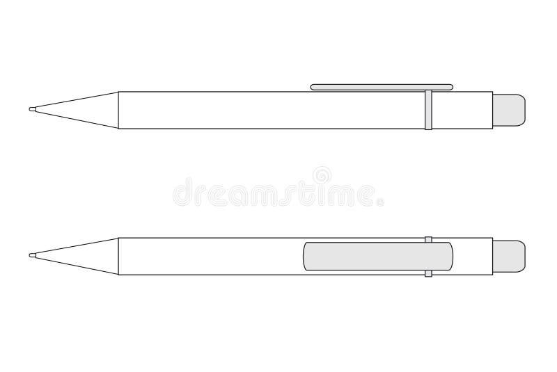 Download Pen in vectors stock vector. Illustration of business - 7381721