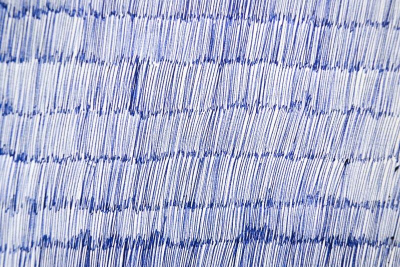 Pena de esferográfica azul no Livro Branco fotos de stock royalty free