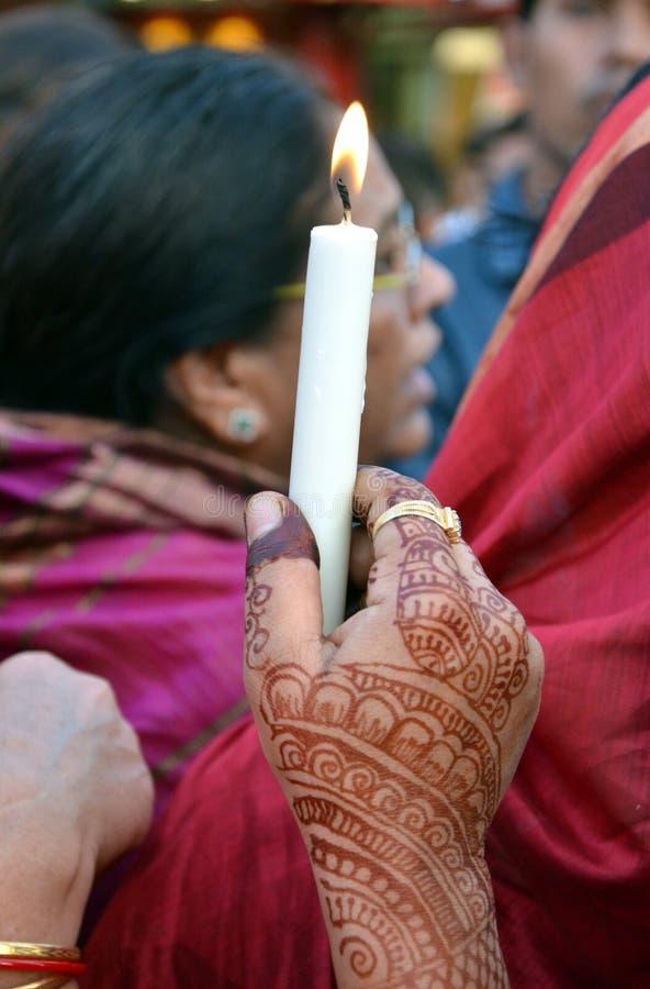 Pena di morte esigente contro gli stupratori fotografia stock libera da diritti