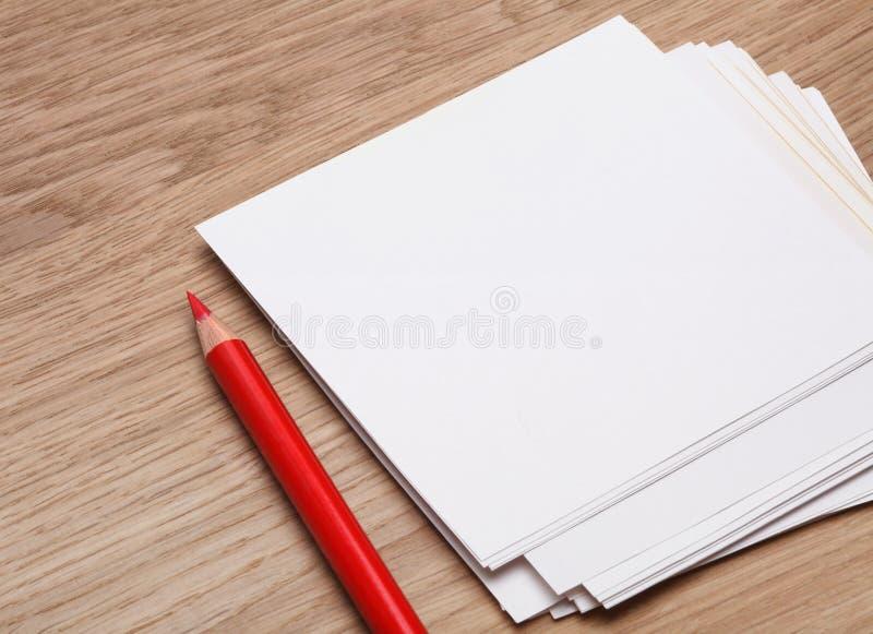 Download Pena e papel imagem de stock. Imagem de limpo, planeamento - 16857885