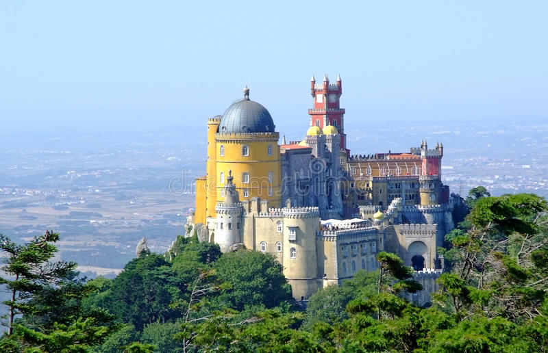 Download Pena National Palace stock photo. Image of sintra, national - 16049470