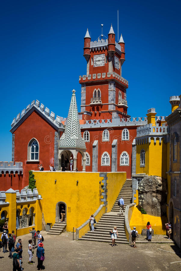 Download Pena National Palace In Portugal Editorial Photography - Image: 83723707