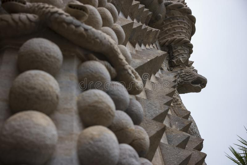 Pena pałac, Pedro De Penaferrim, Sintra, Portugalia fotografia stock