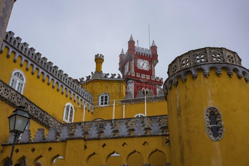 Pena pałac, Pedro De Penaferrim, Sintra, Portugalia zdjęcie stock