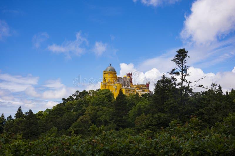 Pena pałac, Pedro De Penaferrim, Sintra, Portugalia zdjęcia royalty free