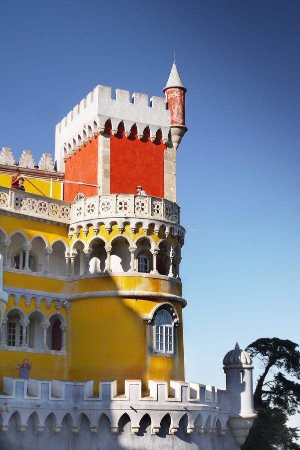 Pena pałac, sintra, Portugal obrazy royalty free