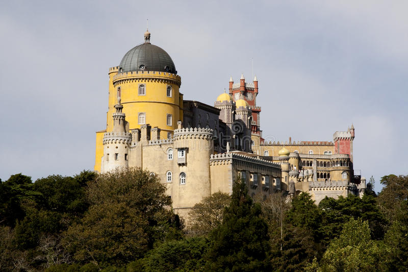 Download Pena Palace stock image. Image of historic, color, chateau - 14267003