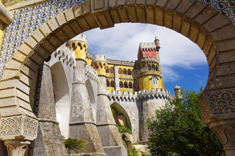 Download Pena Palace Royalty Free Stock Photos - Image: 19070838