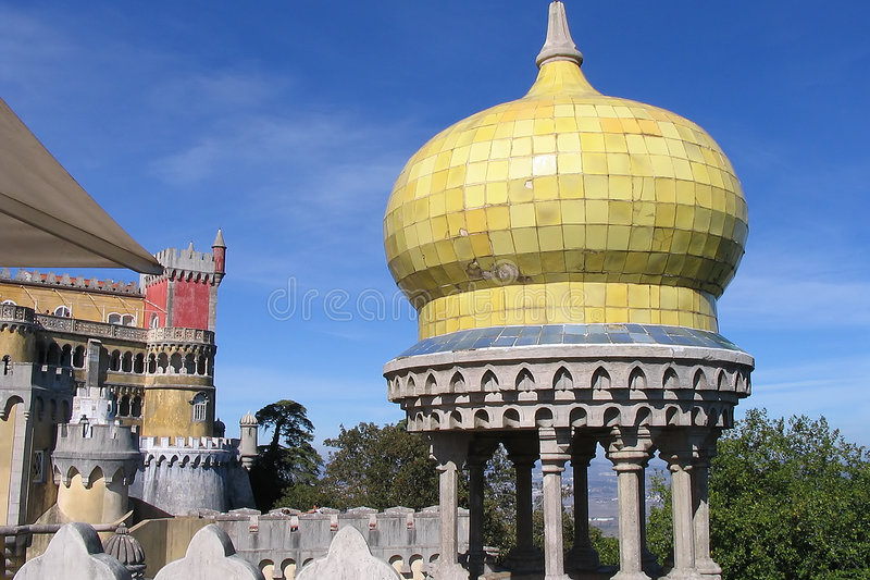 Download Pena Palace stock photo. Image of monument, destination - 198804
