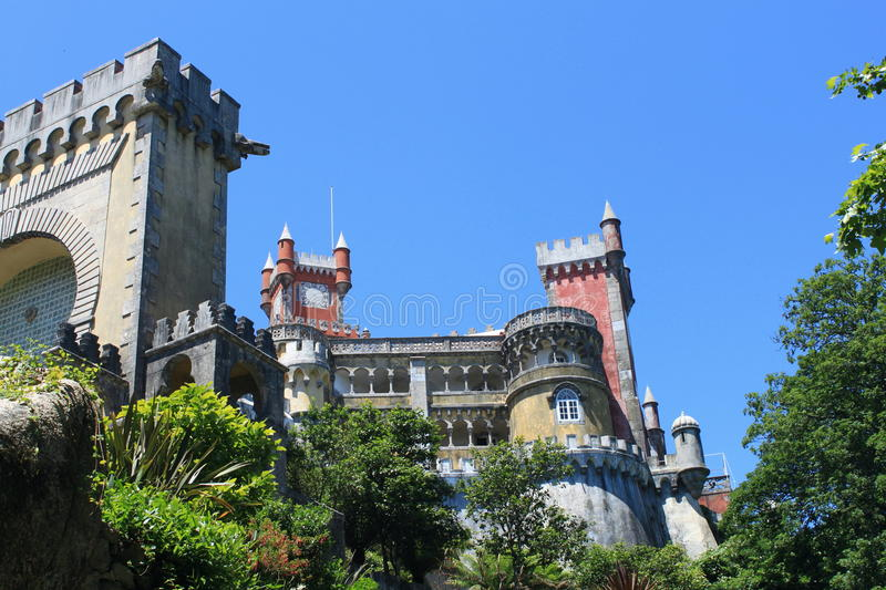 Download Pena Palace stock photo. Image of tower, decoration, architecture - 20246646