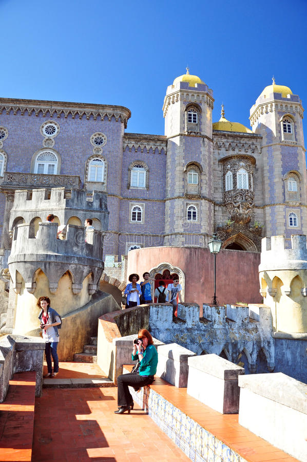 Download Pena palace editorial photography. Image of color, ancient - 22569457