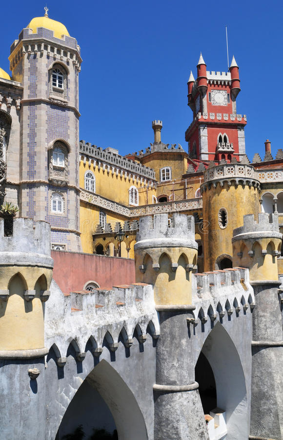 Pena Palace - Sintra Royalty Free Stock Image
