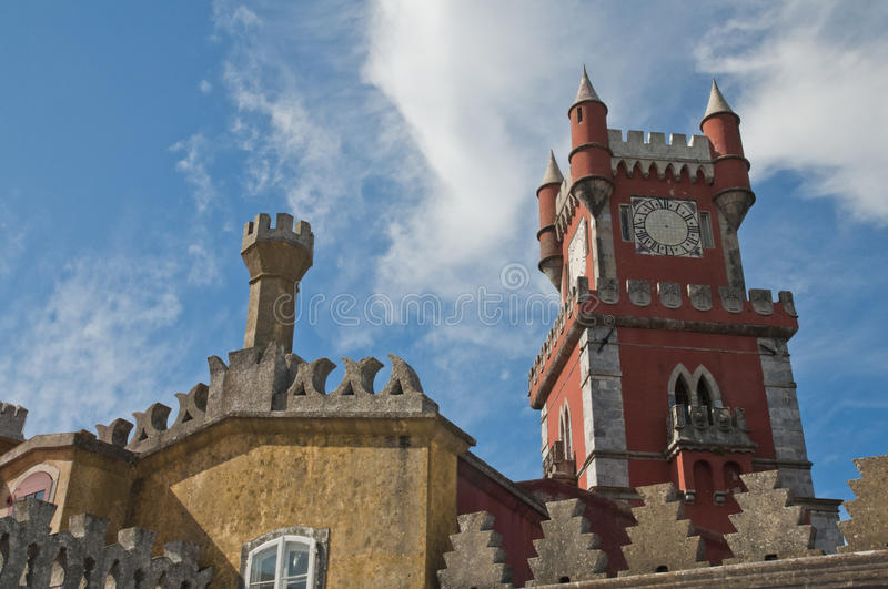 Download Pena palace in sintra stock photo. Image of castle, arabic - 20923268