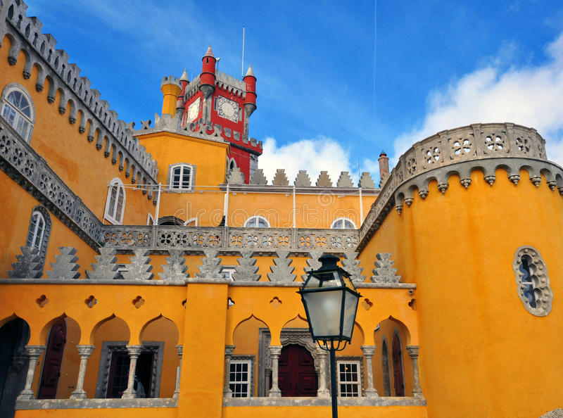 Download Pena Palace In Sintra National Park Royalty Free Stock Photography - Image: 35206217