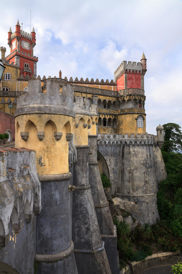 The Pena Palace in Sintra near Lisbon