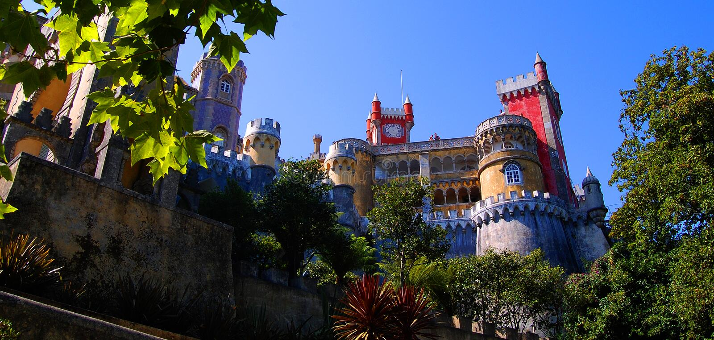 pena palacio DA στοκ φωτογραφία με δικαίωμα ελεύθερης χρήσης