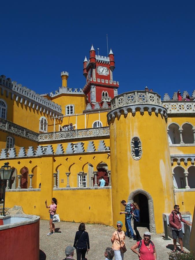 Pena-Palast im sintra Portugal stockfoto