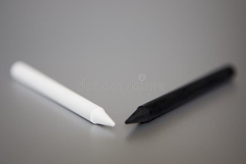 Pena preto e branco imagem de stock royalty free