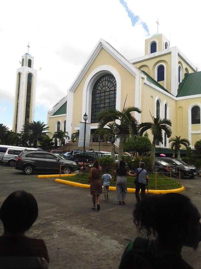 Penafrancia Church Naga City Bicol Region Philippines royalty free stock photos