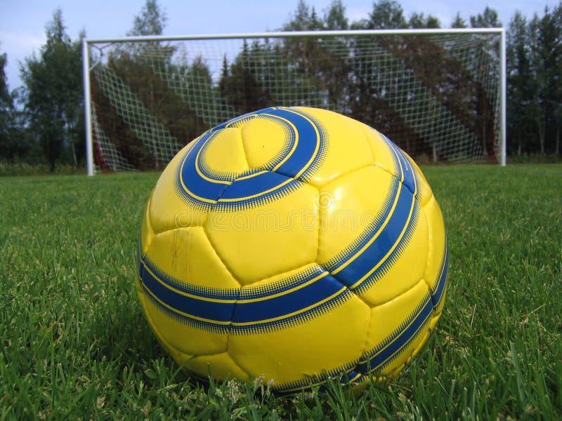 Penalidade do futebol imagens de stock royalty free