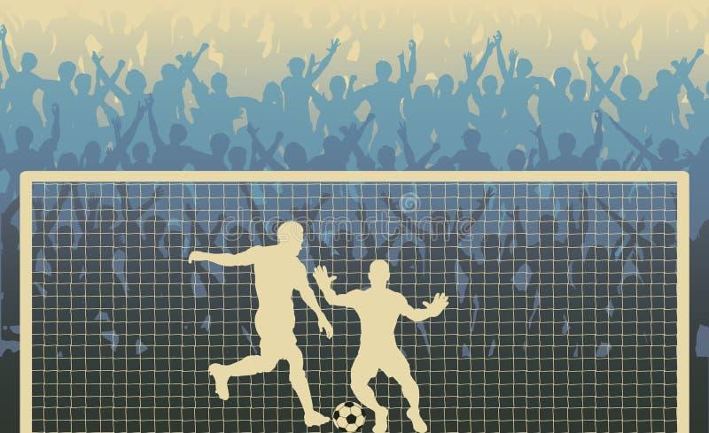 Download Penalty kick stock vector. Image of soccer, football - 16003210