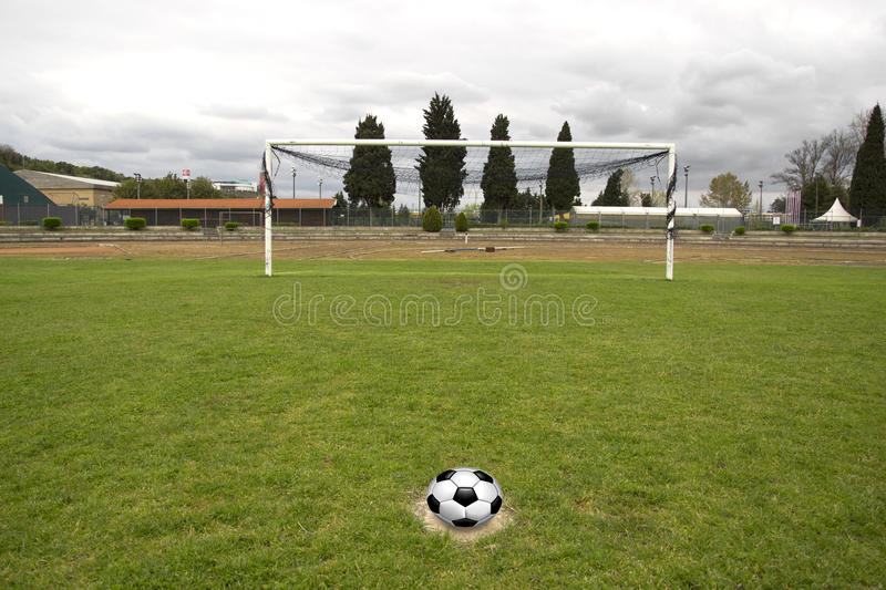 Download Penalty kick stock image. Image of object, goal, light - 24334495