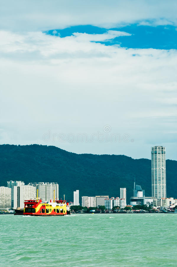 Download Penang Ferry Service stock photo. Image of ferry, industries - 25624372