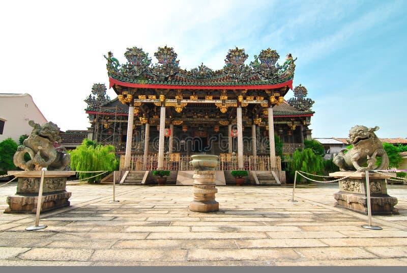 Penang Khoo Kongsi royaltyfri bild