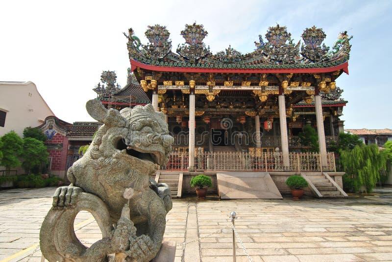 Penang Khoo Kongsi imagens de stock royalty free