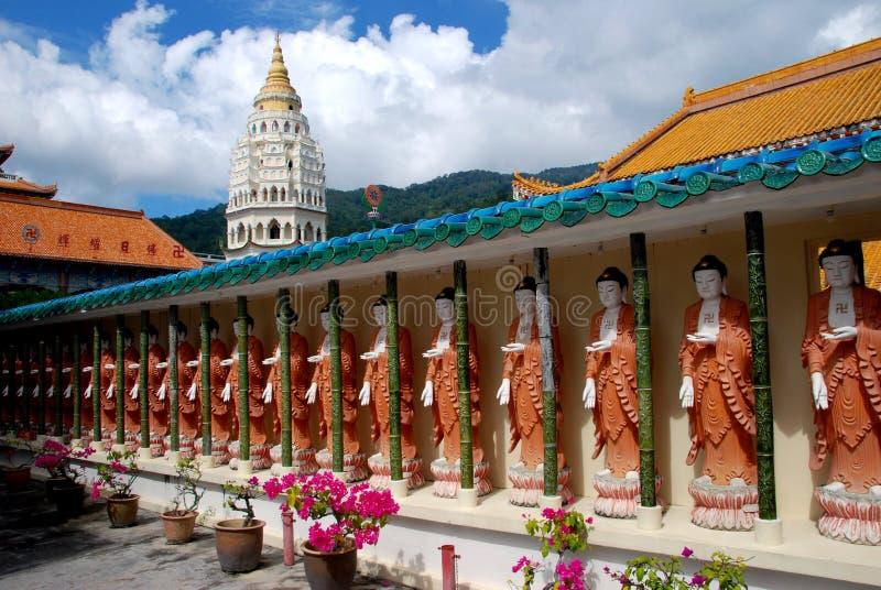 Penang, Malaysia: Buddas Kek Lok Si am Tempel lizenzfreie stockfotografie