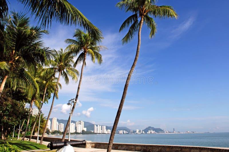 Penang Malaysia widok miasta zdjęcie stock