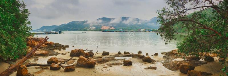 Penang Nationalpark, Malaysia Panorama lizenzfreie stockfotos
