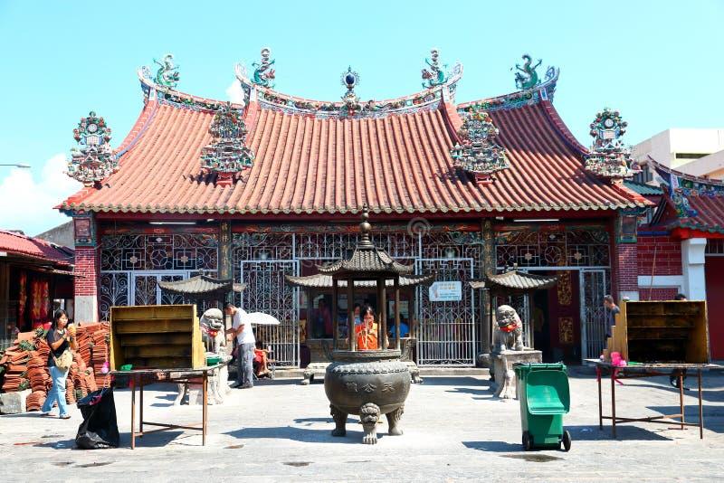 Penang: Tempel av gudinnan av förskoning arkivfoton