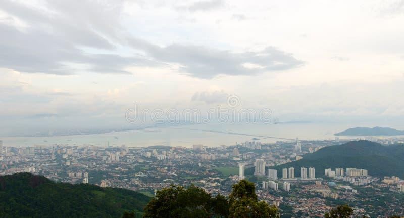Penang wzgórze, Malezja fotografia royalty free