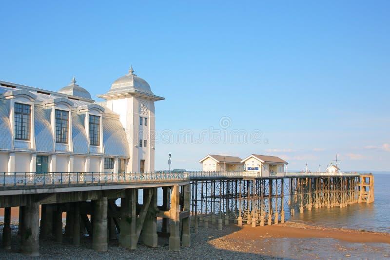 Penarth-Pier stockfotografie